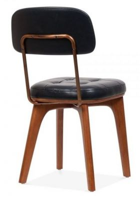 Designer Vintage Dining Chair Solid Wood Fram,e