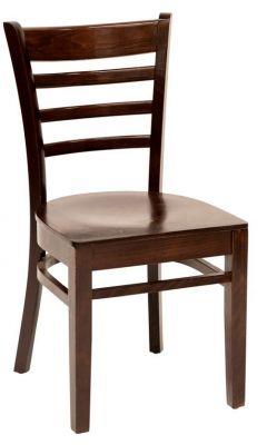 Traditional Beech Wood Walnut Pub Chair