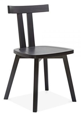 Simple Design Cafe Bistro Chair Wood