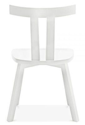 Designer White Modern Simple Dining Chair
