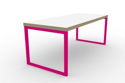 Benny Bench Table Pink