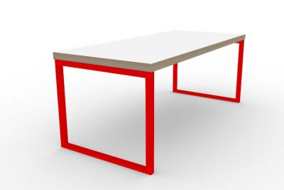 Benny Bench Table Red
