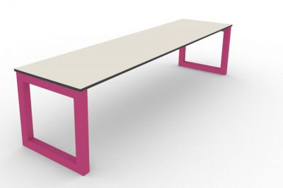 Benny Bench Outdoors Pink