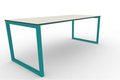 Benny Bench Table Outdoors Turquoise