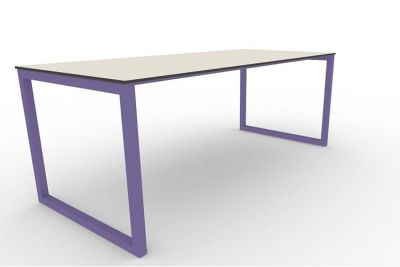 Benny Bench Table Outdoors Violet