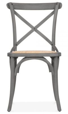 Grey French Style Chic Dining Chair ...