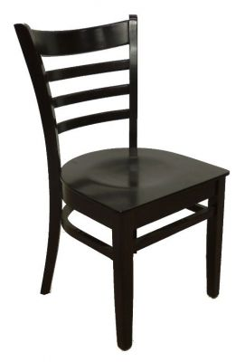 Traditional Pub Design Dining Wooden Chair