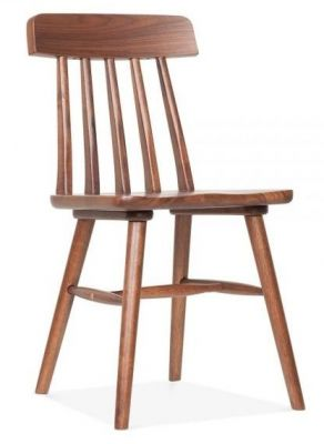 Traditional Walnut Wood Pub Dining Chair Calverton