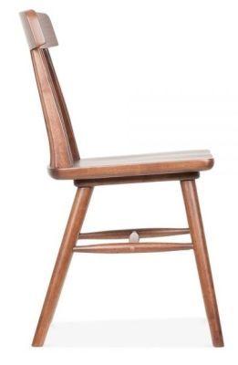 Pub Style Dining Chair Walnut Calverton