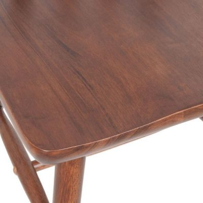 Veneer Seat Rubberwood Pub Style Dining Chair