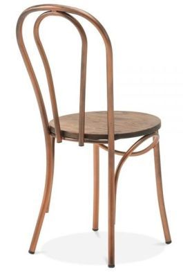 Copper Frame Chic Dining Chair