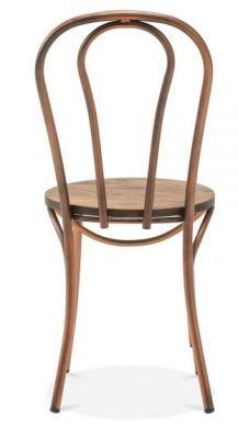 Stylish Bentwood Inspired Chair Designer Copper