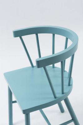 Colour Pub Armchair Spindle Design