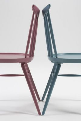 Cafe Dining Chair Colour Spindle Design Buta