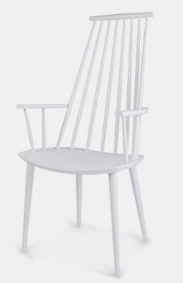 High Back Spindle Design Colour Dining Chair