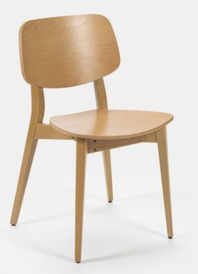 Chic Design Wood Dining Chair Colour