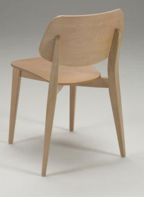 Retro Design Wood Dining Chair Colour