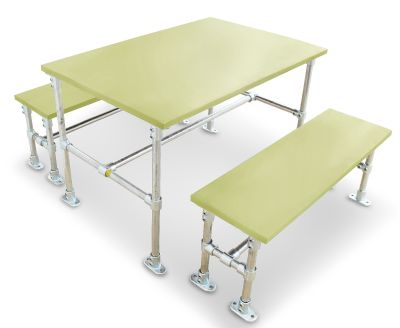 Durban Scaffold Dining Height Dining Set - Laminate Tops