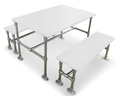 Durban Scaffold Dining Height Dining Set - Laminate Tops 2