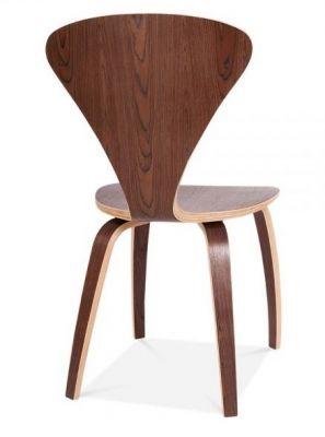 Moulded Plywood Beau Chair Walnut