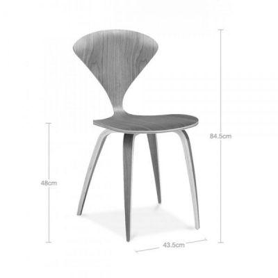 Dimensions Walnut Beau Seating