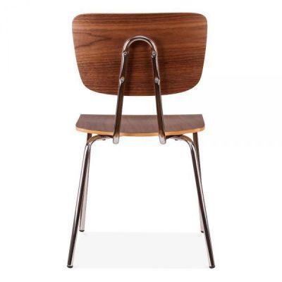 Designer Cafe Walnut Chair