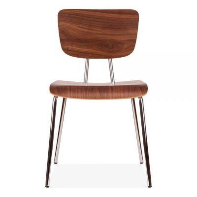 Leola Walnut Designer Plywood Cafe Chair