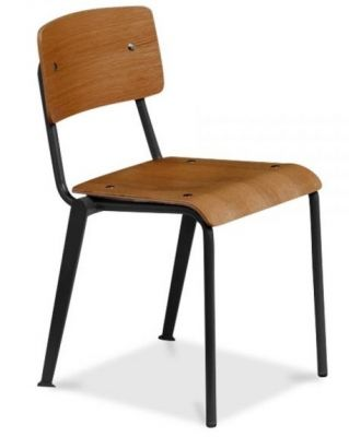 Designer School Style Plywood Chair