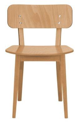 Dark Oak Restaurant Dining Chair Leonora