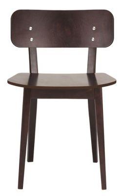 Stylish Wooden Dining Chair Walnut