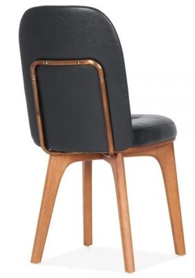 Black Leather Dining Chair Gabor