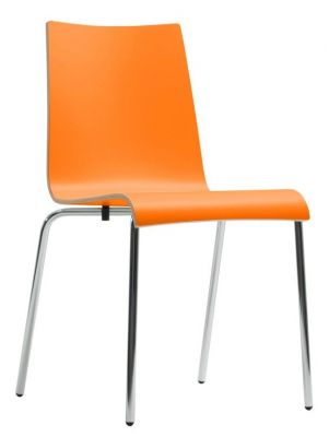 Rio Designer Laminate Chair In Orange