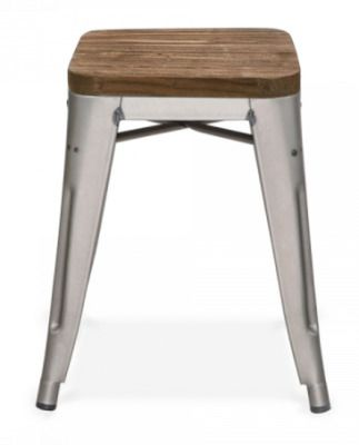 Xavier Stool Wood Seat
