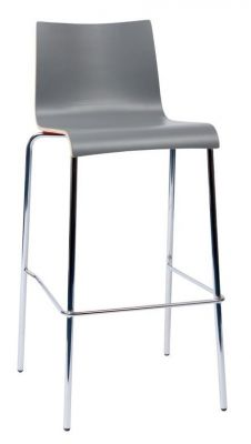 Rio Designer High Stool In Anthracite Laminate