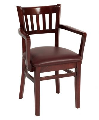 Tring Leather Dining Armchair