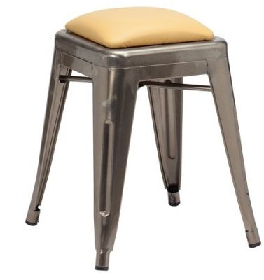 Tolic Low Stool Upholstered Seat
