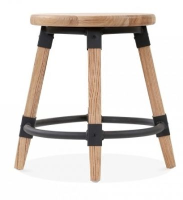 Tyrian Low Stool Natural