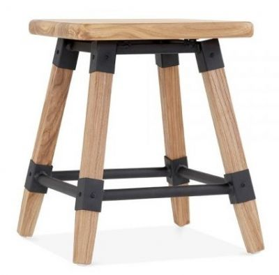 Natural Low Stool Tyrian