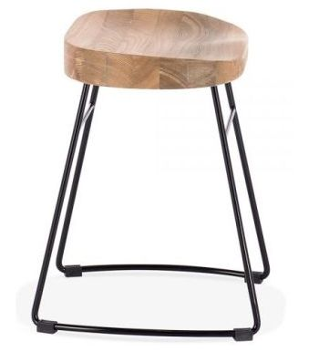 Low Stool Goa Frame Black