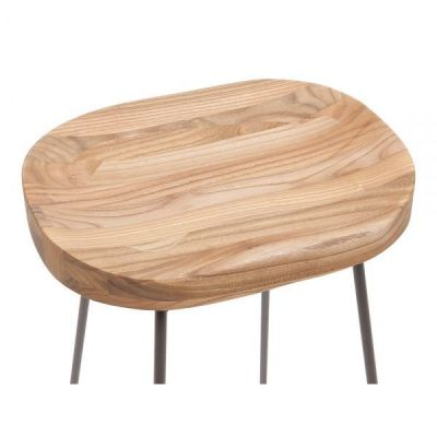 Seat Elm Low Stool Goa
