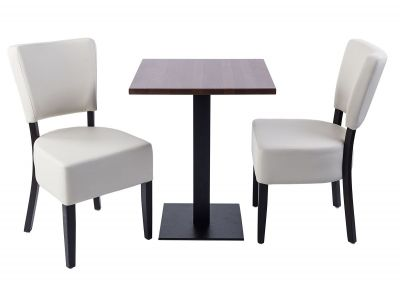 Rosie V4 Two Person Dining Set With Atable With A Square Top C