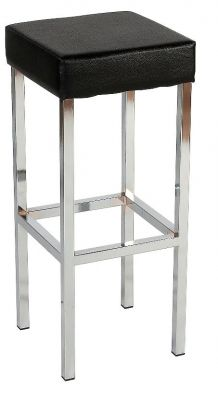 Dimensions High Stool Chrome