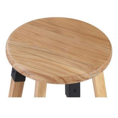 Tyrion Wooden Bar Stool Seat