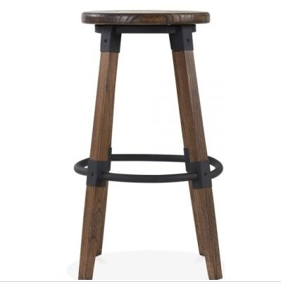 Tyrian Bar Stool Brown Finish