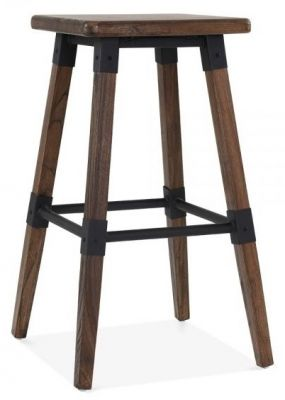 Tyrion Bar Stool Square Dark