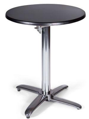 Moby Outdoor Circular Flip Top Table Black