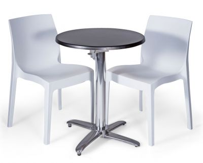 Moby Outdoor Circular Table & Chairs