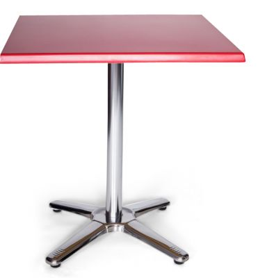Moby Outdoor Square Table Red
