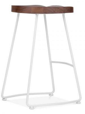 Designer Goa Bar Stool White Frame
