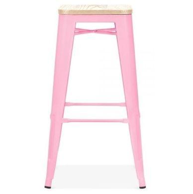 Xavier Pink Designer High Stool
